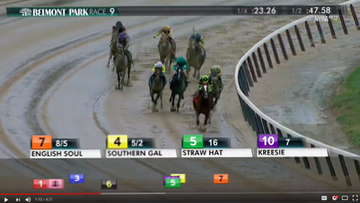 Replay: English Soul Romps in 10/9/17 MSW at Belmont Park